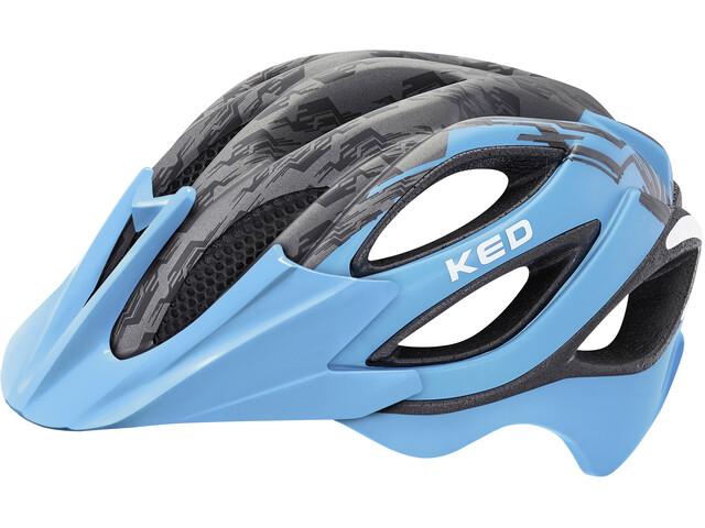 KED Paganini Visor - Casco de bicicleta - azul/negro